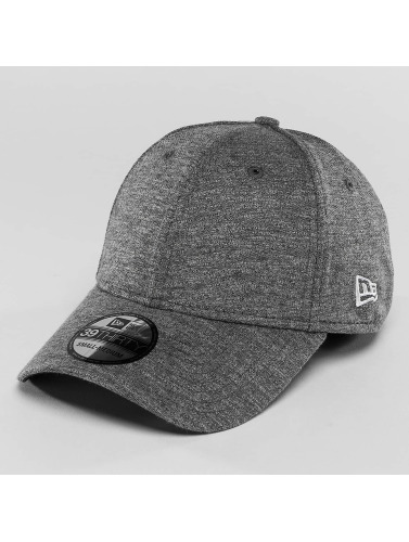 New Era Flexfitted Cap Jersey Stretch in grau