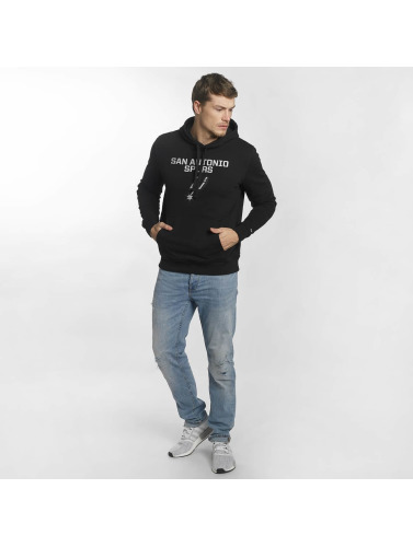 New Era Herren Hoody Team Logo San Antonio Spurs in schwarz