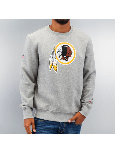 New Era Herren Pullover Team Logo Washington Redskins in grau