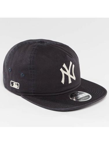 New Era Herren Snapback Cap Chain Stitch NY Yankees in blau