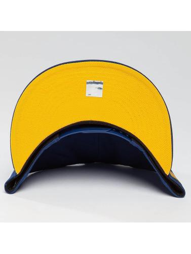 New Era Snapback Cap Team Classic Golden Stae Warriors in blau