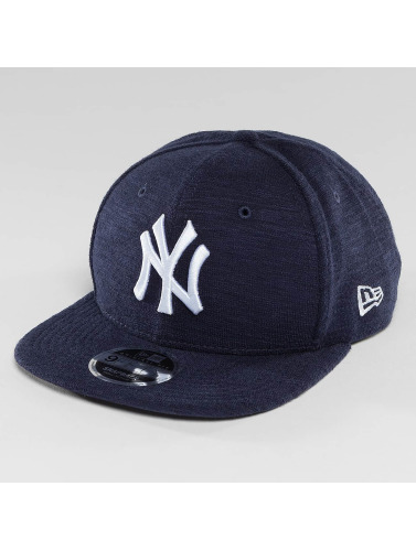 New Era Snapback Cap Slub NY Yankees 9Fifty in blau