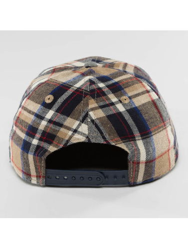 New Era Snapback Cap Spring Plaid NY Yankees 9Fifty in braun