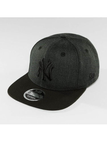 New Era Snapback Cap Seasonal Heather NY Yankees in grau