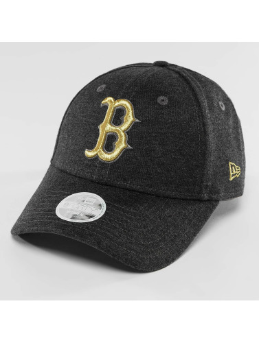 New Era Snapback Cap Essential Boston Red Sox 9Forty Jersey in grau