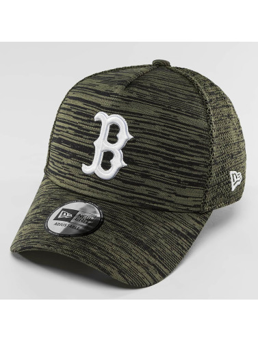 New Era Snapback Cap Engineered Fit Boston Red Sox 9Fifty in olive