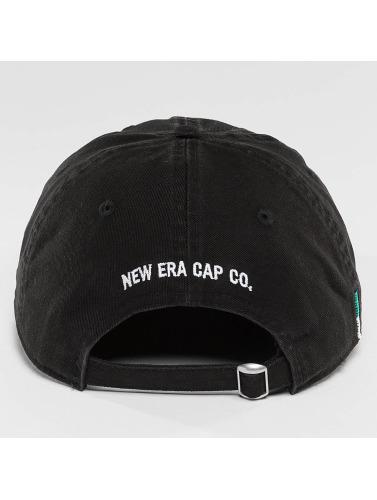 New Era Herren Snapback Cap Sunbleach Unstructured 9Fifty in schwarz