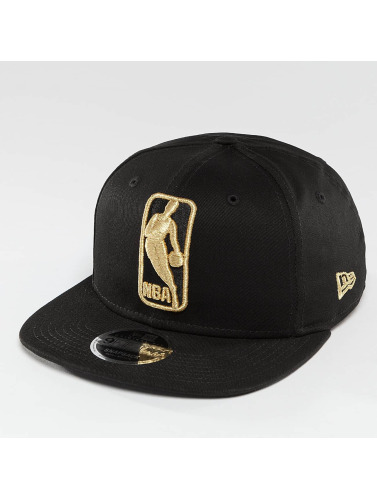 New Era Snapback Cap League Logo NBA Logo 9Fifty in schwarz