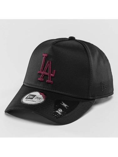 New Era Snapback Cap Jersey Tech A-Frame LA Dodgers in schwarz