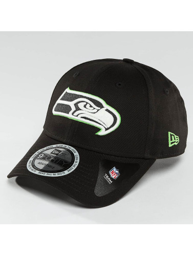 New Era Snapback Cap Team GITD Basic Seattle Seahawks in schwarz