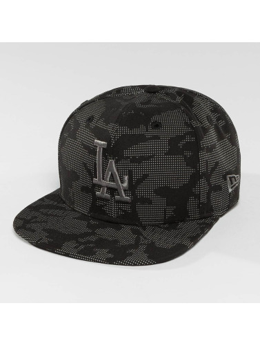 New Era Snapback Cap Night Time Reflective LA Dodgers 9Fifty in schwarz