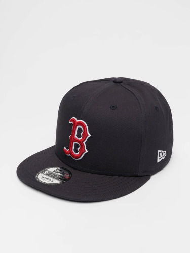 New Era Snapback Cap MLB 9Fifty Boston Red Sox Team Colour in schwarz