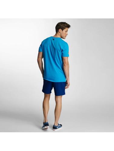 New Era Herren T-Shirt Team App Carolina Panthers Classic in blau