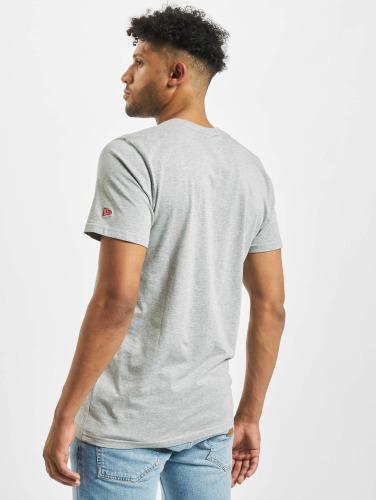 New Era Herren T-Shirt Team Logo in grau