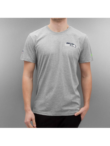 New Era Herren T-Shirt Team Apparel Seattle Seahawks in grau