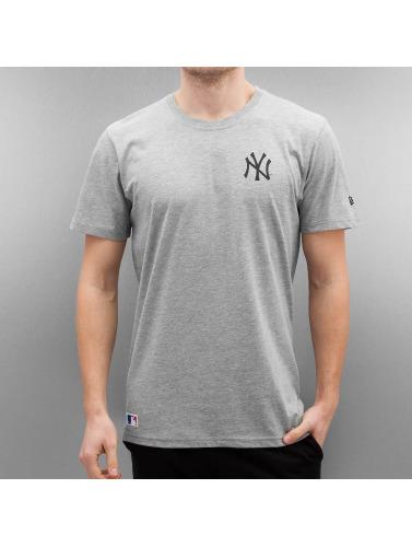 New Era Herren T-Shirt Team Apparel NY Yankees in grau