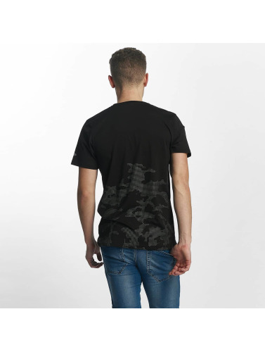 New Era Herren T-Shirt Reflective Camo in schwarz