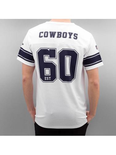 New Era Herren T-Shirt Team Apparel Supporters Dallas Cowboys in weiß Günstig Kaufen Schnelle Lieferung Ibayu