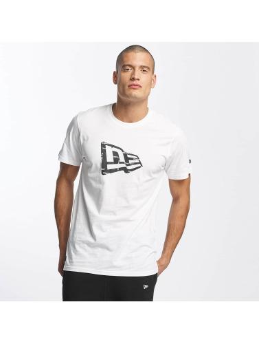 New Era Herren T-Shirt Originators Flag in weiß