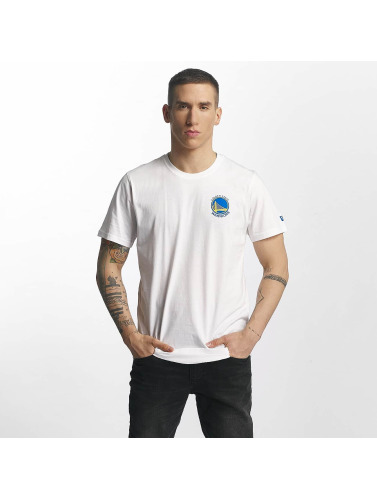 New Era Herren T-Shirt Tip Off Golden State Warriors Chest in weiß