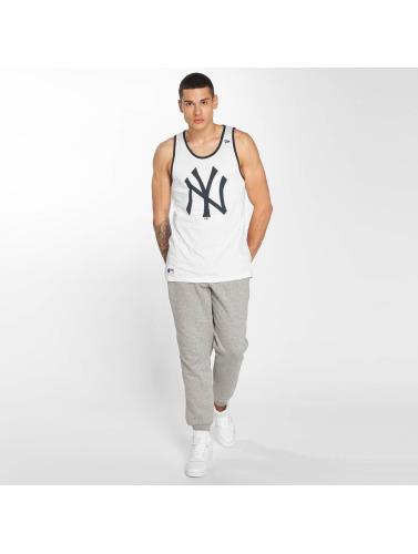 New Era Hombres Tank Tops Team Apparel NY Yankees in blanco