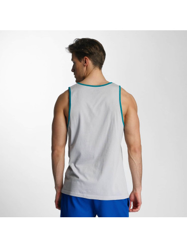 New Era Herren Tank Tops Sandwash in grau