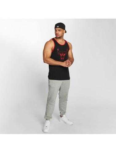 New Era Hombres Tank Tops NBA Chicago Bulls in negro