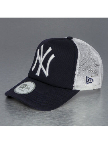 New Era Trucker Cap Clean in blau