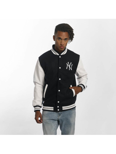 New Era Herren Übergangsjacke Team Apparel Varsity NY Yankees in blau