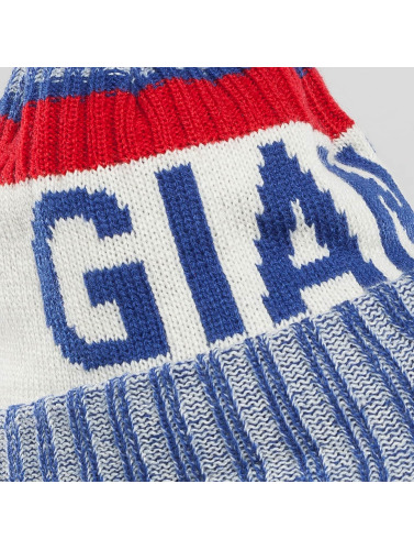 New Era Wintermütze On Fiel NFL Sport NY Giants in blau