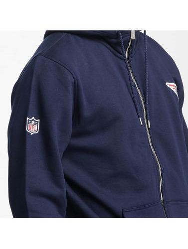 New Era Herren Zip Hoodie New England Patriots in blau