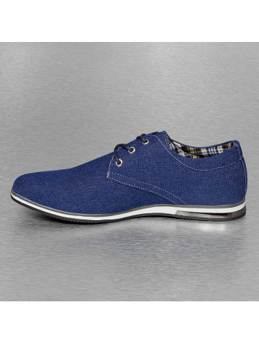 New York Style Herren Sneaker Galway Denim In Blau