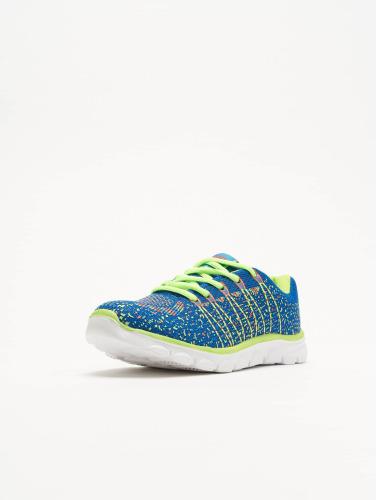 New York Style Damen Sneaker Sport in blau