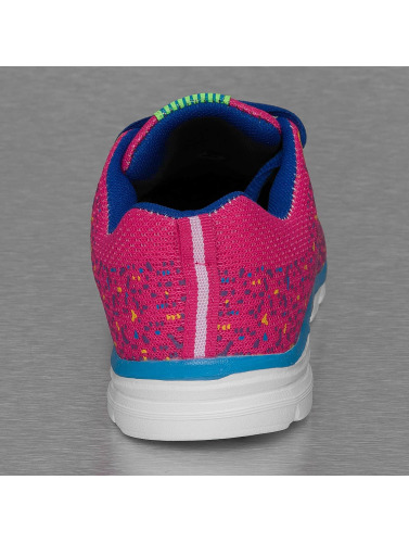 New York Style Damen Sneaker Sport in pink