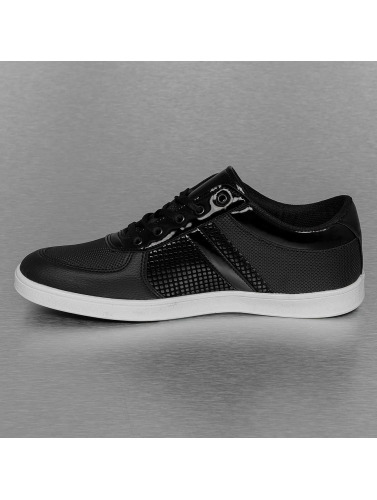 Sneaker schwarz Herren New York in Pattern Perforated Style New York fw1Z7Z