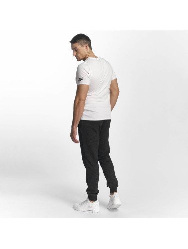 Nike Hombres Camiseta Verbiage 2 in blanco