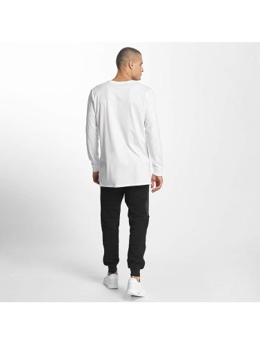 Nike Hombres Camiseta de manga larga NSW Hybrid in blanco