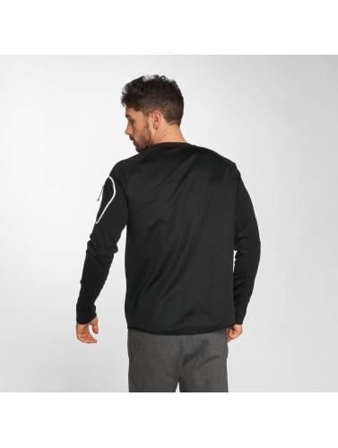 Nike Hombres Camiseta de manga larga Sportswear AV15 Fleece in negro