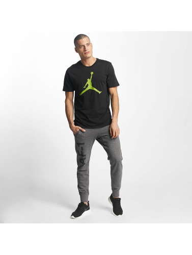 Nike Hombres Camiseta JSW Brand 6 in negro