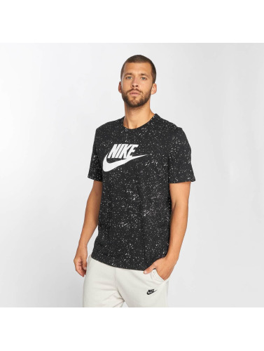 Nike Hombres Camiseta Sportswear GX Pack 2 in negro