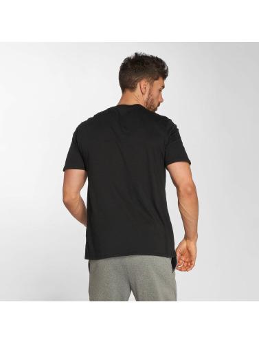 Nike Hombres Camiseta Sportswear Blue HBR 2 in negro