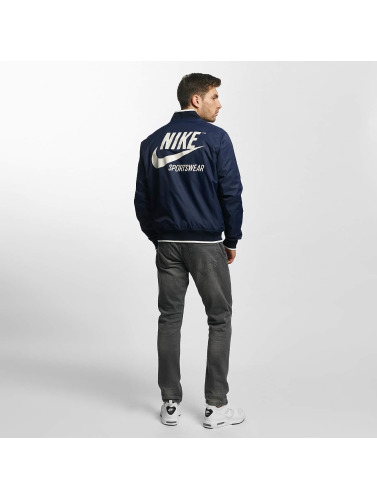 Nike Hombres Chaqueta de entretiempo NSW Archive in azul
