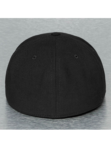 Nike Flexfitted Cap True Swoosh Flex in schwarz