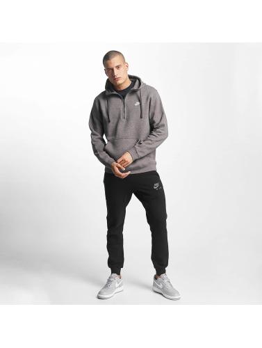 Nike Herren Hoody NSW HZ Fleece Club in grau
