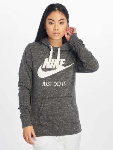 Nike Damen Hoody Gym Vintage in grau