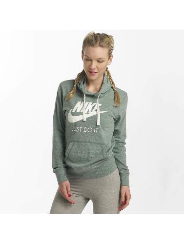 Nike Damen Hoody NSW Gym Vintage in grün