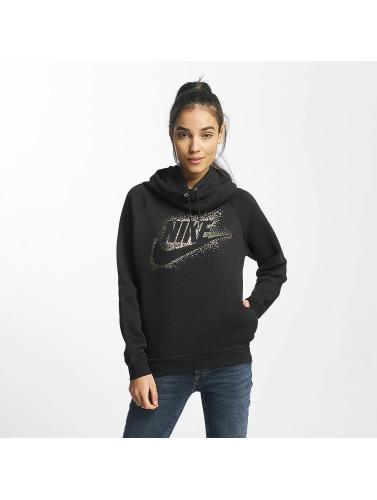 Nike Damen Hoody NSW Metallic Rally in schwarz