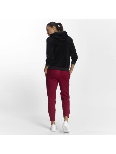 Nike Damen Hoody NSW Velour in schwarz