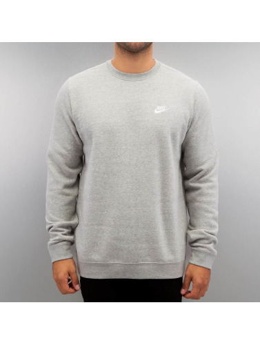 Nike Hombres Jersey NSW Fleece Club in gris