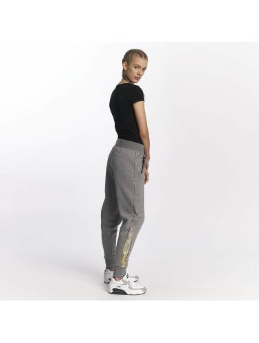 Nike Damen Jogginghose NSW Rally Metallic in grau
